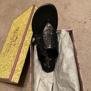 Brighton Sandals — Black